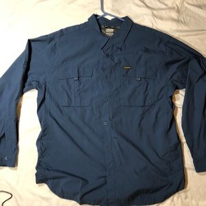 Colombia Long Sleeve Shirt 21 inch pit to pit
